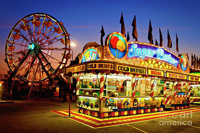 Candy Digital Art - The Midway - D005715a by Daniel Dempster