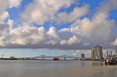Crescent City Digital Art - The Mighty Mississippi by Bill Cannon