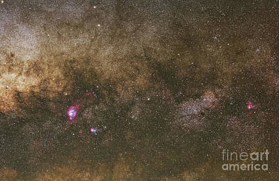 The Milky Way Art Print by Luis Argerich