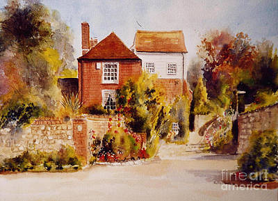 Painting - The Mill Hythe Kent by Beatrice Cloake