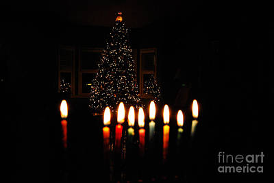 Art Print featuring the photograph The Miracle Of Christmas by Linda Mesibov