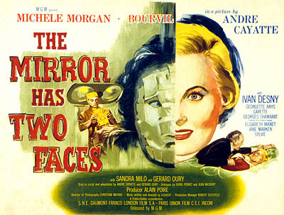 Fid Photograph - The Mirror Has Two Faces, Aka Le Miroir by Everett