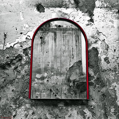 Naples Photograph - The Mirror - Rotten Inside And Out by Gianluca Sommella