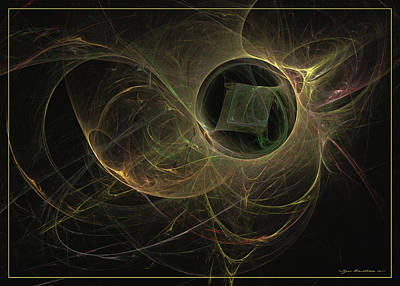Digital Art - The Missing Cube by Sipo Liimatainen