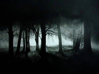 Drawing - The Mist by Mickey Raina