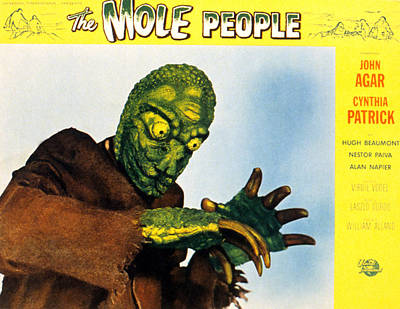 The Mole People, 1956 Art Print by Everett