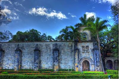 Medieval Temple Photograph - The Monastery by Armando Perez
