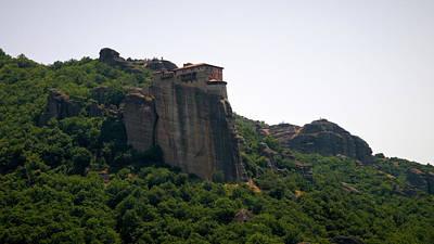 Photograph - The Monastery Of Roussanou On The Cliff by Jouko Lehto