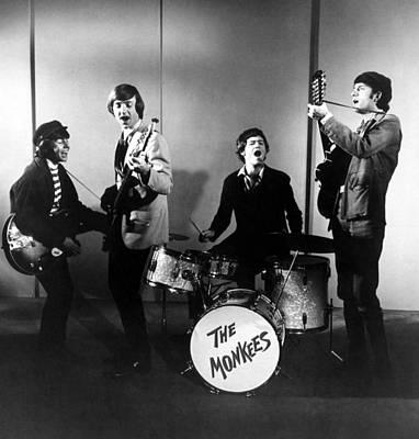 The Monkees, L-r Davy Jones, Peter Print by Everett