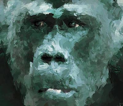 House Pet Digital Art - The Monkey by Yury Malkov