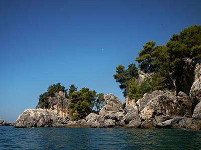 Cactus - The moon the sea and rocks by Jouko Lehto