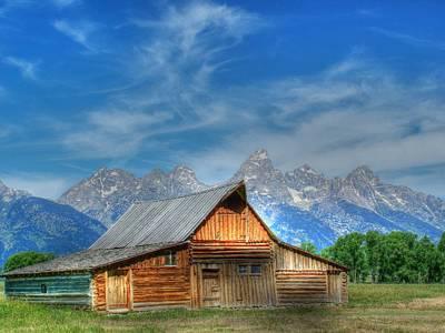 Photograph - The Morman Barn by Ken Smith