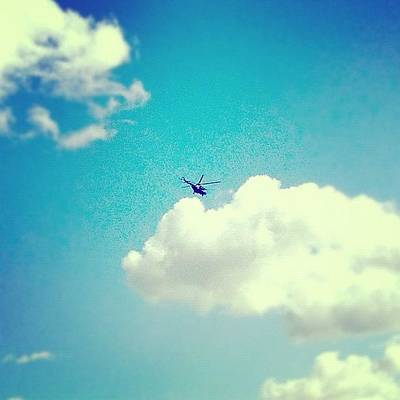 Helicopter Photograph - The Moscow #helicopter  2012 ||| #fun by Konstantin R