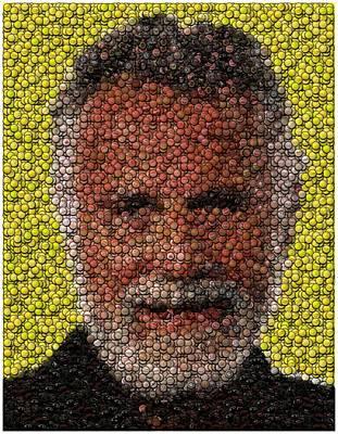 The Most Interesting Mosaic In The World Art Print by Paul Van Scott