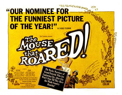 Posth Photograph - The Mouse That Roared, Jean Seberg by Everett