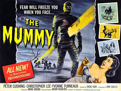 The Mummy, As The Mummy Christopher Art Print by Everett