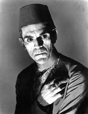 Horror Movies Photograph - The Mummy, Boris Karloff, 1932 by Everett