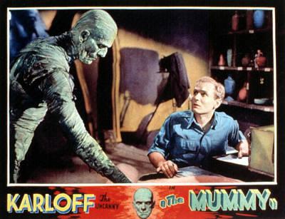 The Mummy, Boris Karloff, Bramwell Art Print by Everett