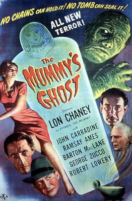 Postv Photograph - The Mummys Ghost, Lon Chaney Jr., 1944 by Everett