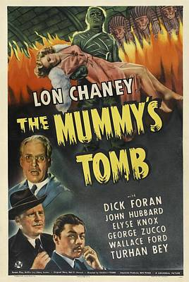 Postv Photograph - The Mummys Tomb, Lon Chaney, Jr., 1942 by Everett