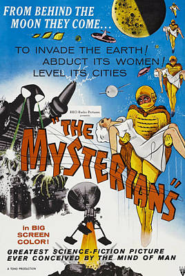 1957 Movies Photograph - The Mysterians, 1957 by Everett