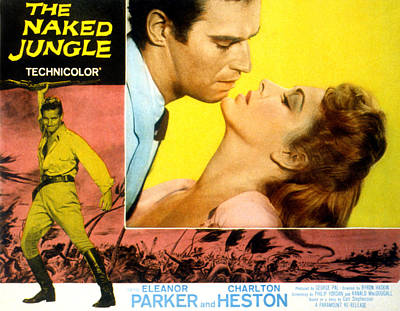 The Naked Jungle, Charlton Heston Art Print
