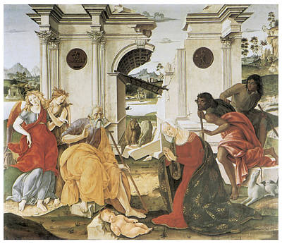 The Nativity Art Print by Francesco Di Giorgio Martini