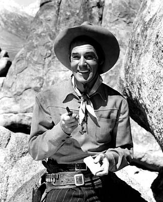 Falcondvd19 Photograph - The Nevadan, Randolph Scott, 1950 by Everett