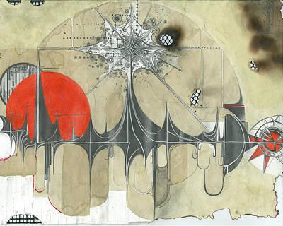 Pyramids Mixed Media - The New Age by Kalab Wood