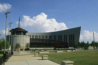 Country Music Hall Of Fame And Museum Photograph - The New Country Music Hall Of Fame by Stephen Alvarez