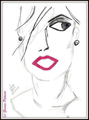 Positive Attitude Drawing - The New Look by Gaurav Patwari