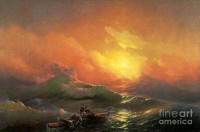 The Ninth Wave Art Print by Aivazovsky