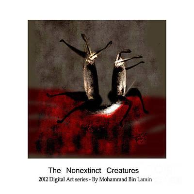 Mohammad Digital Art - The Nonextinct Creatures No 1 by MBL Binlamin