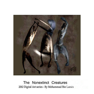Mohammad Digital Art - The Nonextinct Creatures No 12 by MBL Binlamin