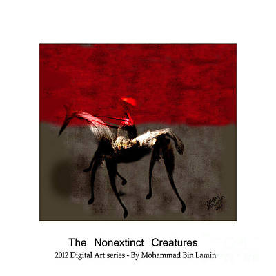 Mohammad Digital Art - The Nonextinct Creatures No 15 by MBL Binlamin