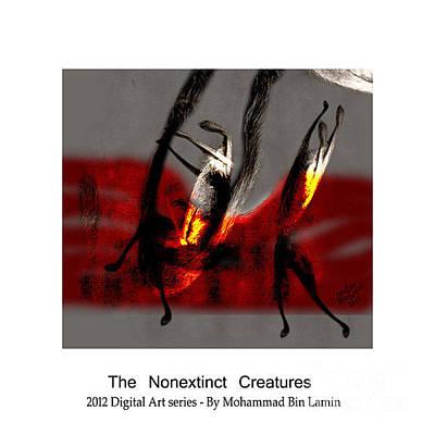 Mohammad Digital Art - The Nonextinct Creatures No 8 by MBL Binlamin