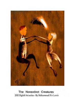 Mohammad Digital Art - The Nonextinct Creatures No 9 by MBL Binlamin