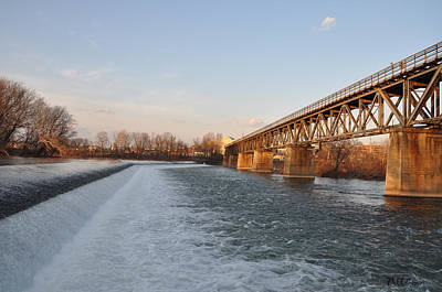 The Norristown Dam Art Print by Bill Cannon