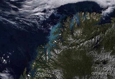 The Norwegian Sea Art Print