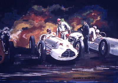 The Novi Specials At Indy Art Print by Frank Hunter