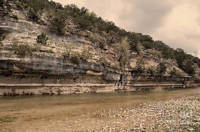 Photograph - The Nueces River  by Donna Greene