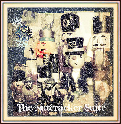 Candy Digital Art - The Nutcracker Suite by Mindy Newman