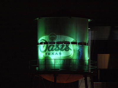 Photograph - The Oasis Water Tank by James Granberry