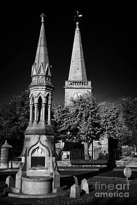 The Oconnor Monument In The Diamond Ballycastle Antrim Northern Ireland Art Print by Joe Fox