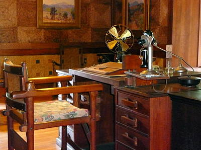 File Cabinets Photograph - The Office by Lori Seaman