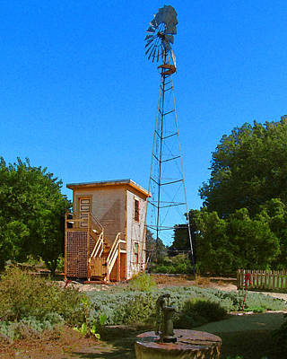 Csuf Photograph - The Old Pump House by Timothy Bulone