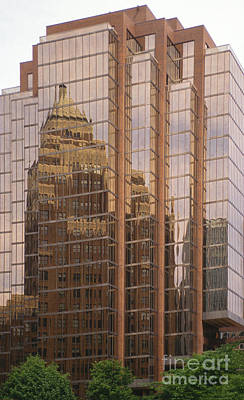 Photograph - The Old And The New by Sandra Bronstein