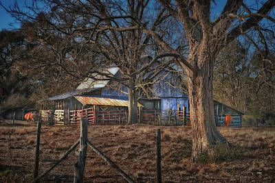 The Old Barn Art Print by Brenda Bryant