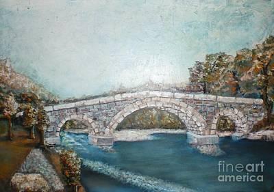 Painting - The Old Bridge by Misko Obradovic