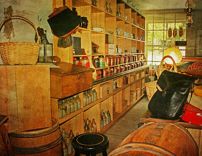 The Old Country Store Art Print by Kim Hojnacki